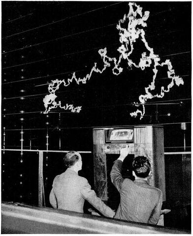 File:GE FM radio antistatic demonstration 1940.jpg