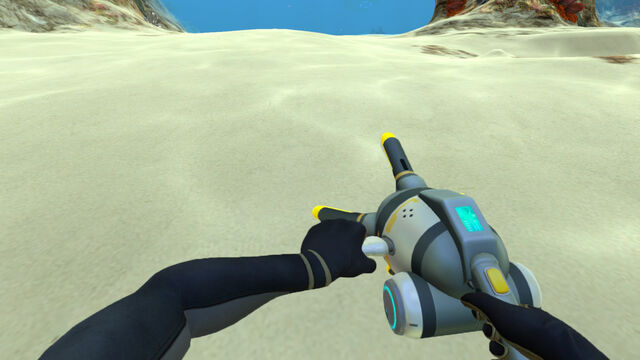 File:The Player Holding the Propulsion Cannon.jpg
