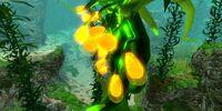 Гроздь семян водоросли