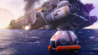 Aurora and Lifepod-Fox3D