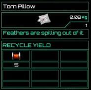 Torn Pillow