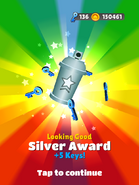 AwardSilver-LookingGood