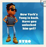 TonyIsBack