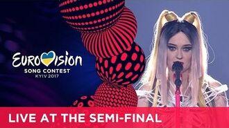 Triana Park - Line (Latvia) LIVE at the first Semi-Final