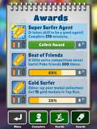CollectingAwardGold-SuperSurferAgent