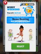 WordyWeekend-SelectingRex
