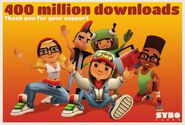 400 Million Downloads