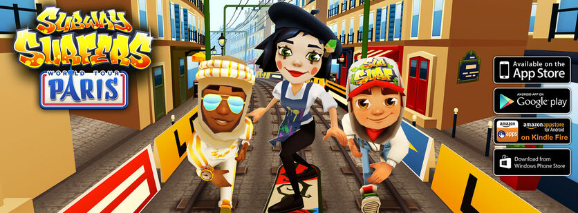 SubwaySurfers Paris2014