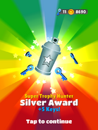 AwardSilver-SuperTrophyHunter