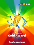AwardGold-HighJumper