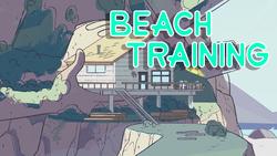 Beach Training title card