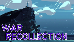 War Recollection title card