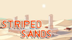 Striped Sands title card