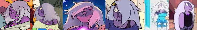 Amethyst's evolution