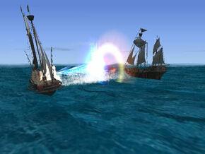 Suikoden IV Ship Battle
