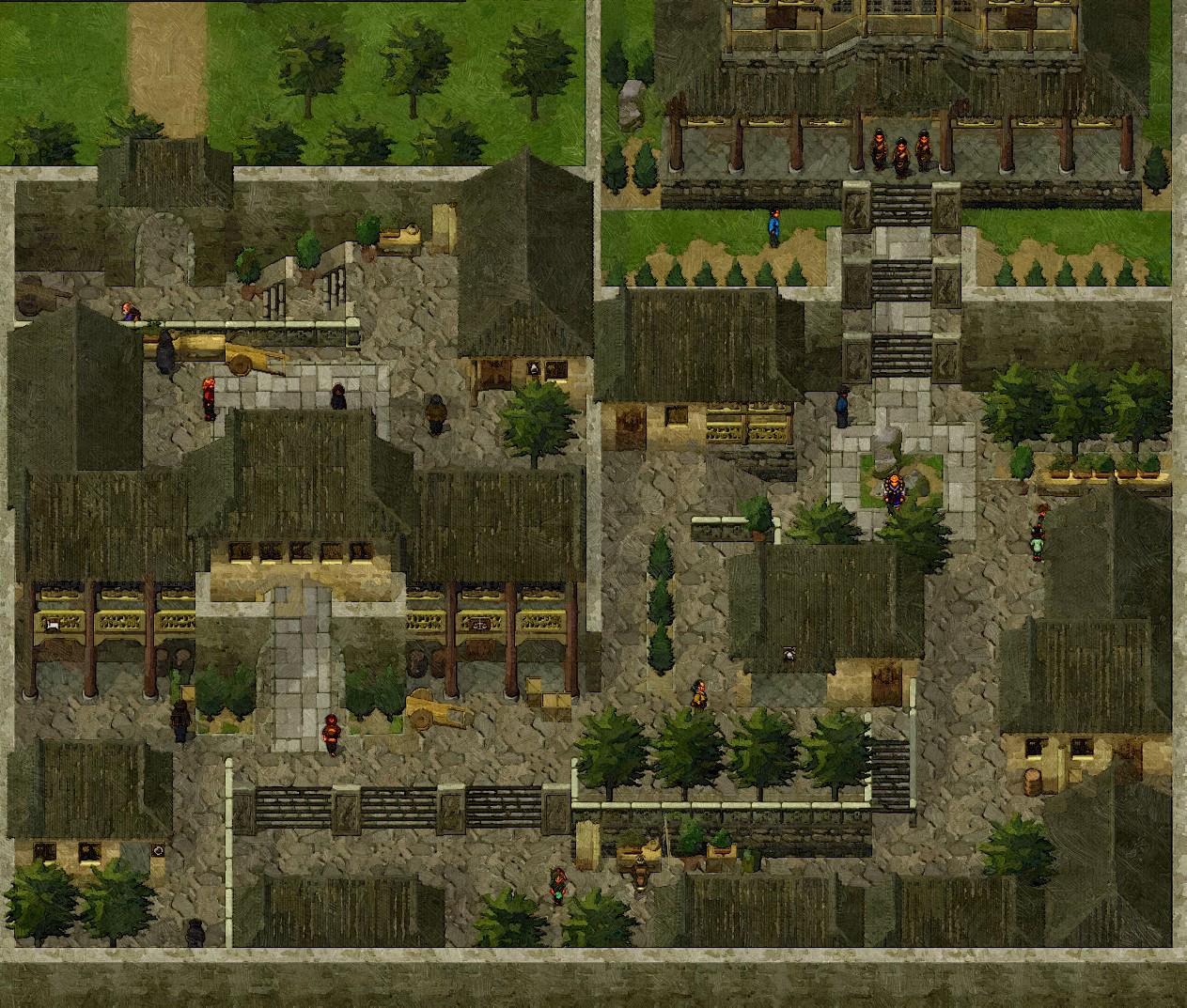 Suikoden 2 Map