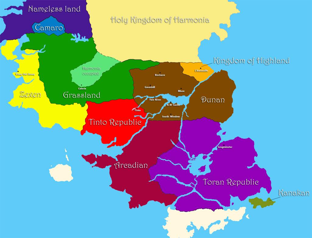 Image Map Suikoden Suikoden Wikia