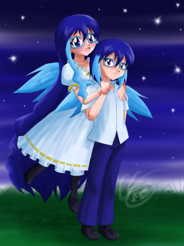 File:Suishou Suine and Shō Suine (Prize by Cobalt-Starlight).png