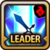 Leader Skill Attack Power (Mid) Fire Icon