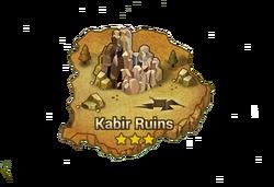 Kabir Ruins Map