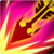 Wedge Arrow (Fire)