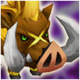 Maned Boar (Wind) Icon