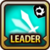 Leader Skill Attack Speed (Low) Light Icon