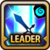 Leader Skill Attack Power (Mid) Water Icon