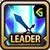 Leader Skill Attack Power (Mid) Guild Battles Icon