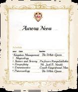 Aurora's Classes