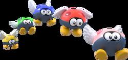Para-Biddybuds Artwork - Super Mario 3D World