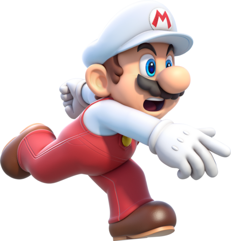 File:Fire Mario Artwork (alt) - Super Mario 3D World.png