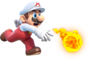 Fire Mario Artwork - Super Mario 3D World