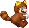 Tanooki Mario Artwork - Super Mario 3D World