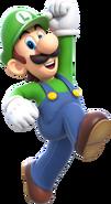 Luigi Artwork (alt) - Super Mario 3D World