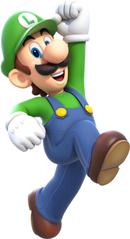 File:Luigi Artwork (alt) - Super Mario 3D World.png