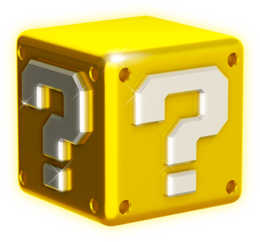 File:Shiny Question Block Artwork - Super Mario 3D World.png