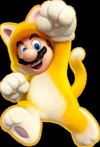 File:Cat Mario Artwork (alt) - Super Mario 3D World.png