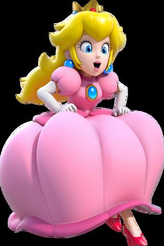File:Princess Peach Artwork (alt) - Super Mario 3D World.png