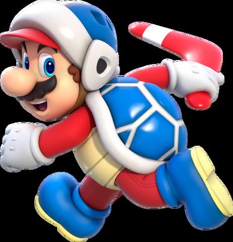 File:Boomerang Mario Artwork - Super Mario 3D World.png
