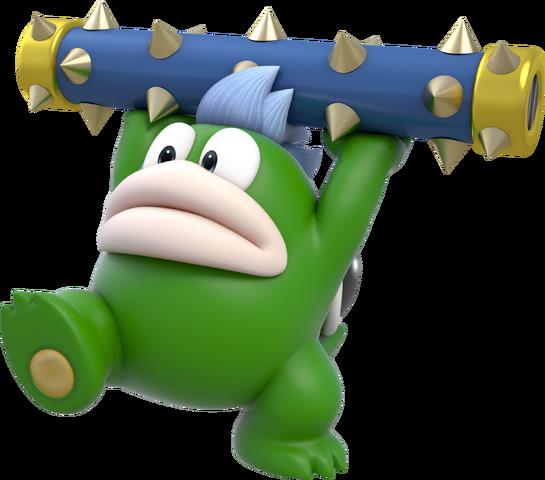 File:Spike Artwork - Super Mario 3D World.png