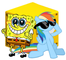 SpongeBobAndRainbowDashDB