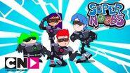Supernoobs Shark Attack Cartoon Network