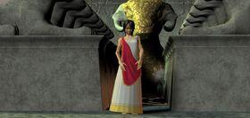 Priestess Lana (Sacred Temple Alter)