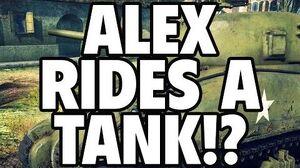 Alex Rides A Tank?! - War Thunder