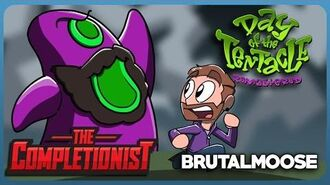 The Completionist® Ft. Brutalmoose Day of the Tentacle Remastered - Return of the Tentacle