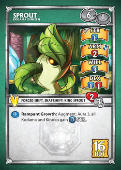 Card sprout