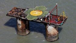 Sealand from above and to the side