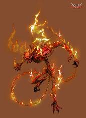 Anima Fire Demon by Wen M