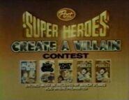 1982 Create a villain contest 2